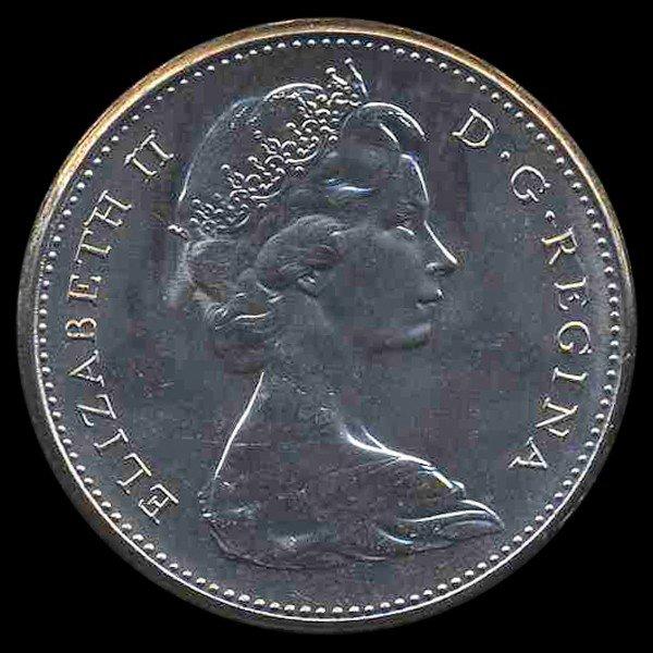 9B: 1974 Canada 5c Hi Grade GEM Unc