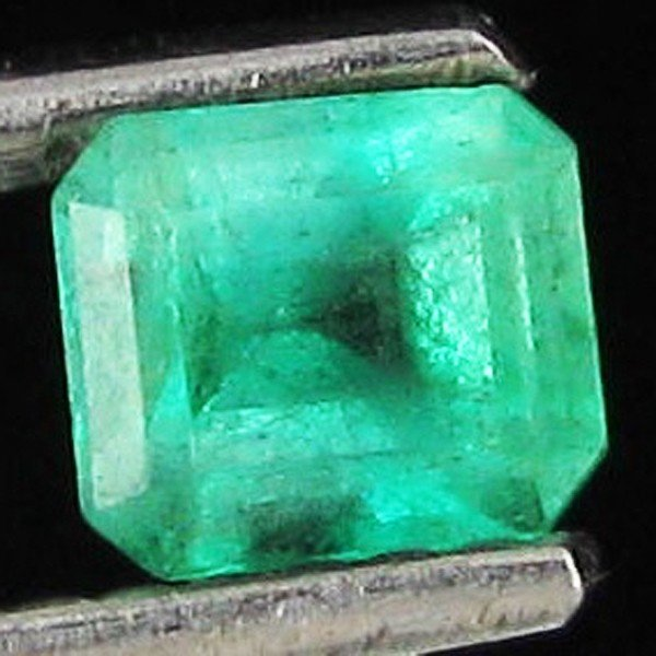 6: .56ct Top Clear Columbian Emerald Rectangle