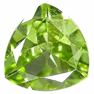 17: 0.45ct Top Rich Green Peridot