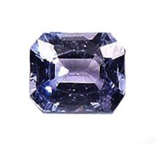 21: 0.3ct Natural Blue Sapphire Octacon