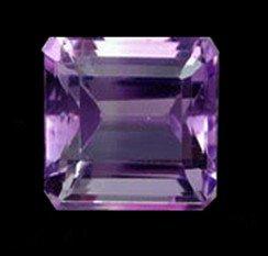 22: 2ct Octagon Natural Amethyst