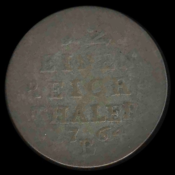 1681: 1764B Germany Prussia 1/12 Thaler - 2