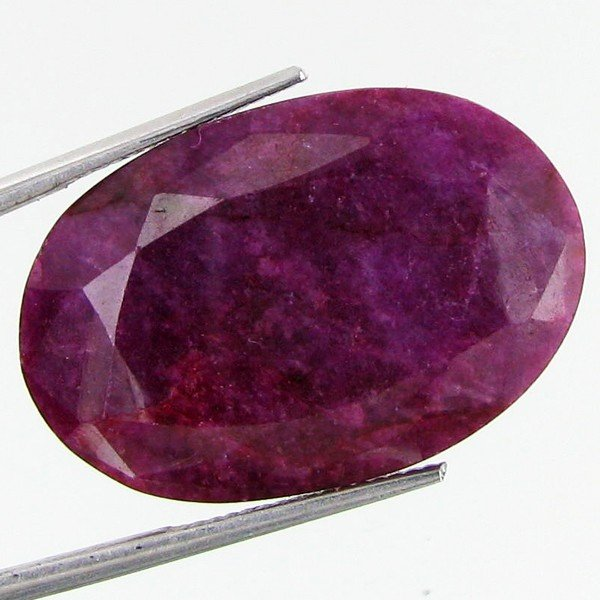 9: 19.37ct African Ruby Oval Cut