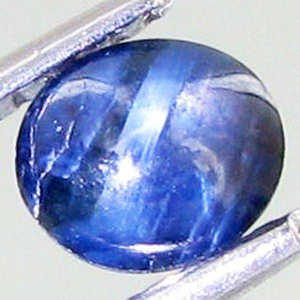 14A: 0.8ct Natural Blue Star Sapphire