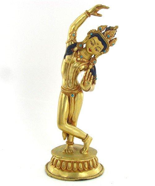 465: Gilded Tibet Dancing Buddha