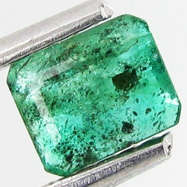 2A: .48ct Octagon Emerald Deep Green Colombia