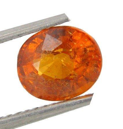 3: 1.56ct Fanta Orange Mandarin Garnet