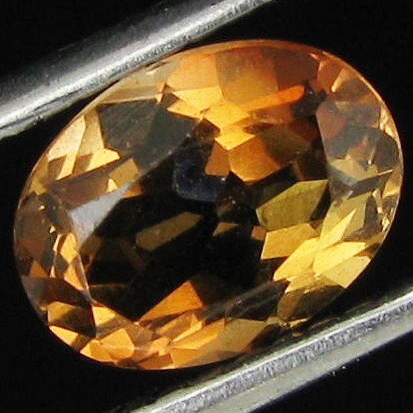 11: 1.36ct Oval Natural Imperial Topaz Unheated Brazil