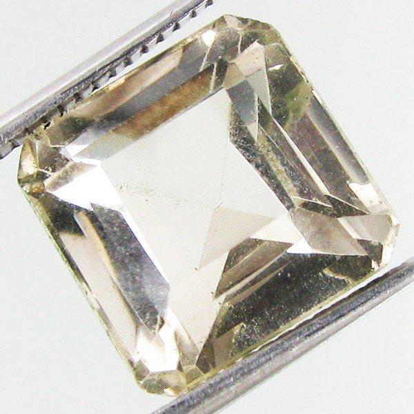 13: 8.8ct White Quartz Octagon
