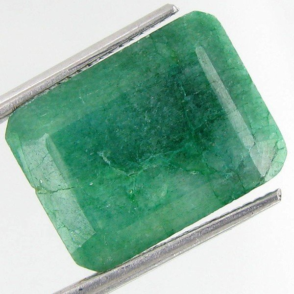 3A: 22.77ct South American Emerald Octagon Cut