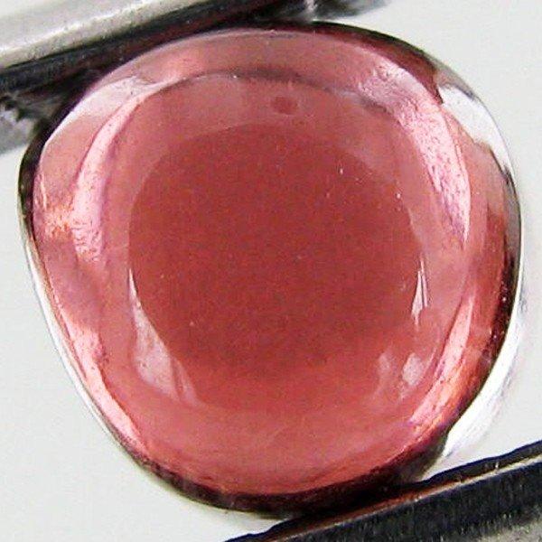 19: 1.06ct Natural Rubellite Tourmaline Pear