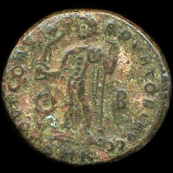 24: 300AD Roman Bronze Coin Higher Grade