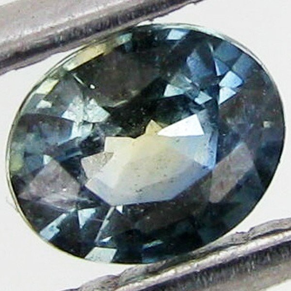 12: 0.4ct Blue Green Sapphire Oval