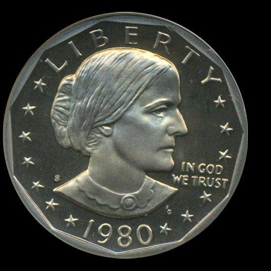 5: 1980S Anthony Graded Dollar ProoF Super GEM DCAM