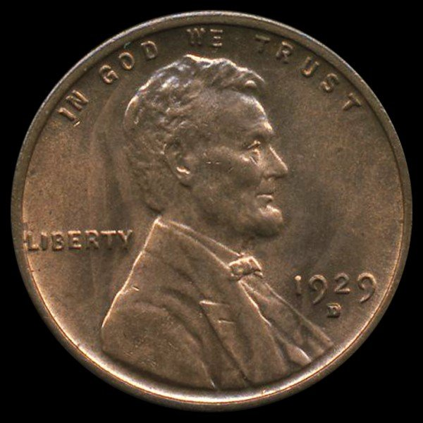 582: 1929D Lincoln 1c MS66+++ RB