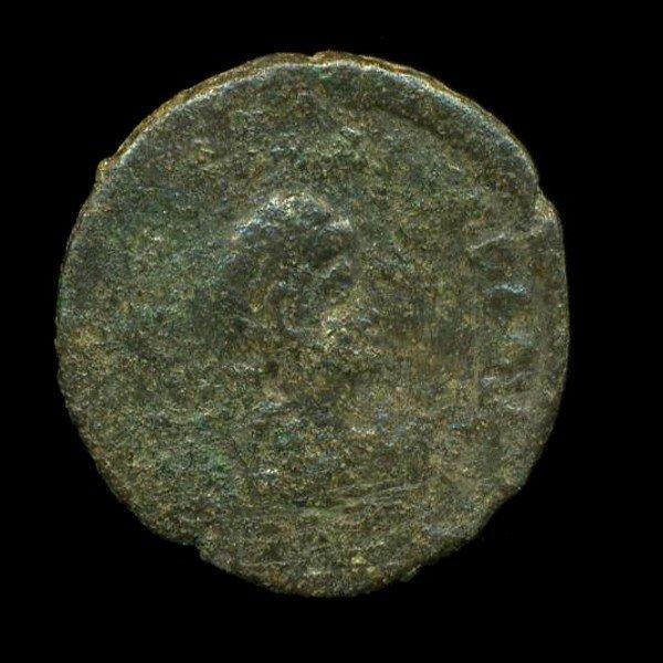 19: 300AD Roman Bronze Coin Higher Grade