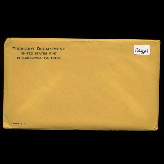 1: 1964 RARE Unopened Envelope Proof Set