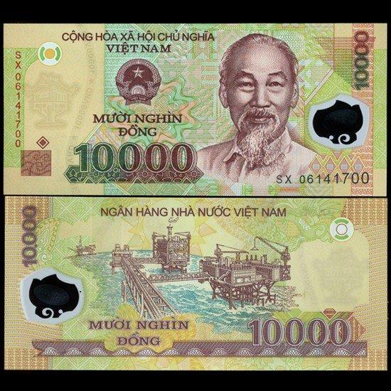 8: 2003 Vietnam 10000 Dong Crisp Unc Note