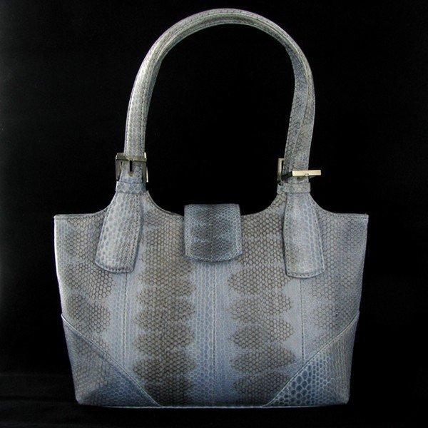 1193: High End Ladies Seasnake Handbag Purse