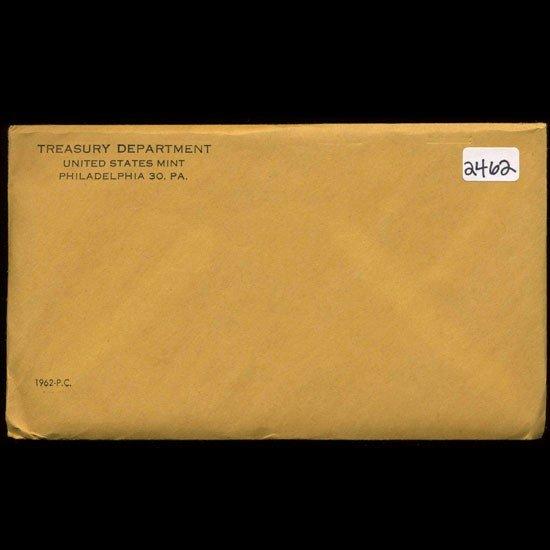 1: 1962 RARE Unopened Envelope Proof Set