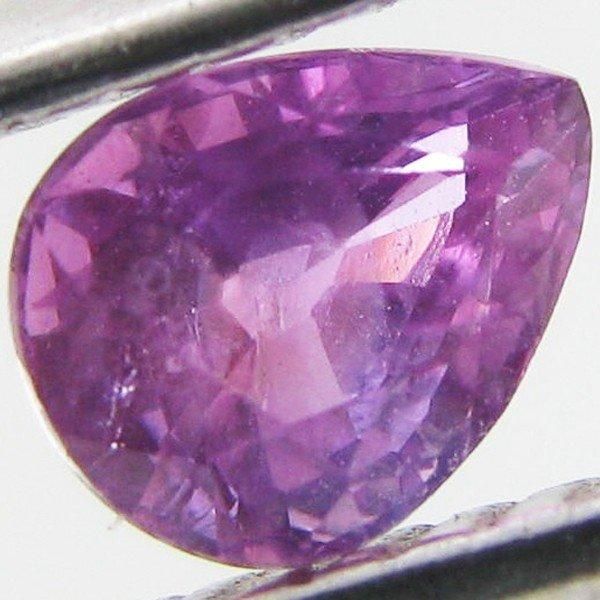 5: 0.56ct Fancy Color Sapphire Pear