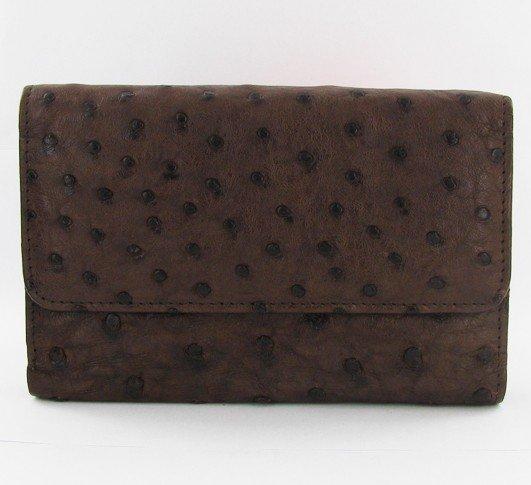 8: Ladies Ostrich Hide Skin Wallet