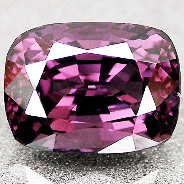 18C: 4.95ct  Natural Titanium Purple Spinel