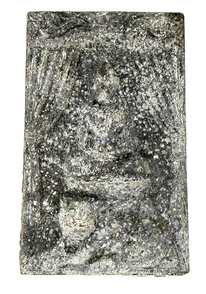 6: Vintage Thai Clay Amulet 1990s Buddha