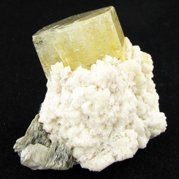 11: 194ct Natural Aquamarine Crystal on Matrix