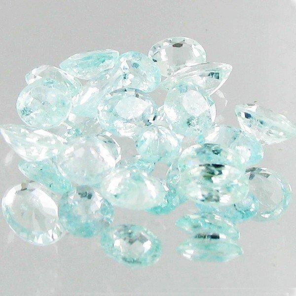7: 1.10ct Neon Blue Cuprian Tourmaline Parcel EST: $60