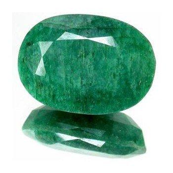 31: 4+ct. Excellent Oval Cut S. American Emerald EST: $