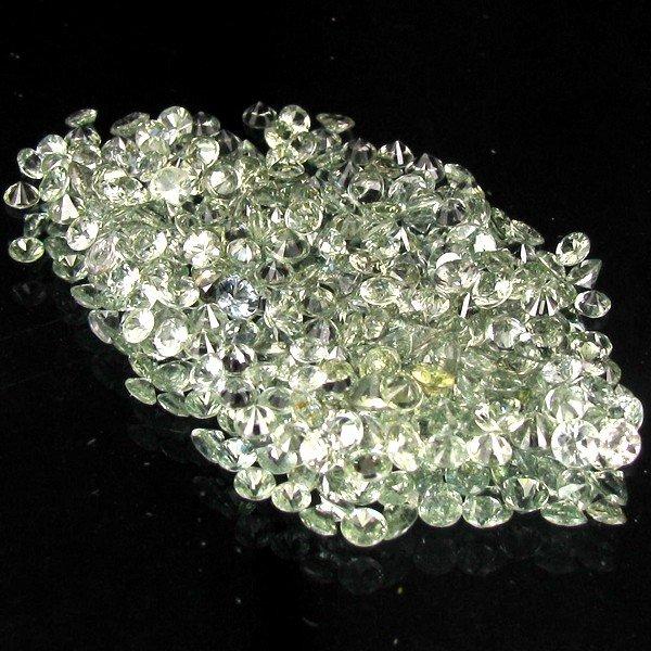 33: 1.02ct Green Sapphire Round Cut Parcel EST: $15 - $