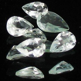 1.05ct Sky Blue Aquamarine Pear Parcel EST: $21 - $