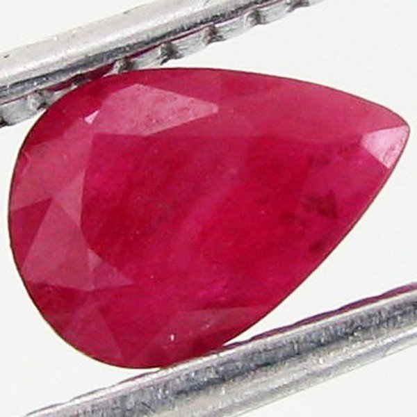 44: 0.65ct Red Pink Burma Ruby Clean Heat Only EST: $10