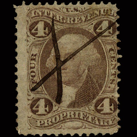 69: 1860s US Revenue Stamp 10c 3 Different EST: $9 - $1