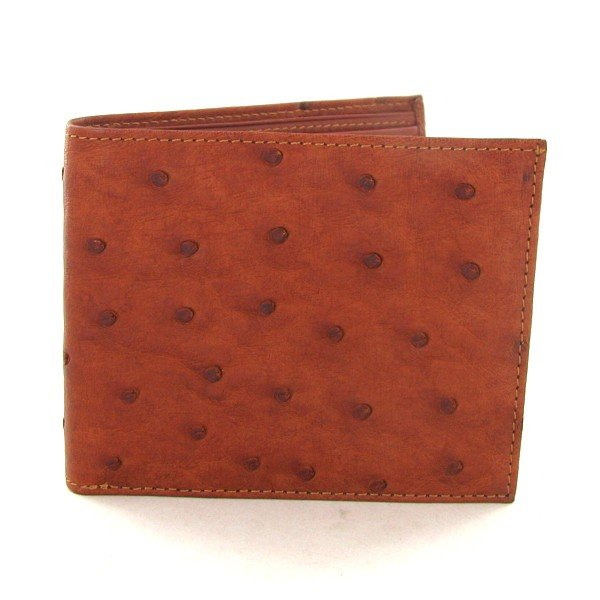 1: Mens Ostrich Hide Skin Wallet EST: $300 - $600 (ACT-