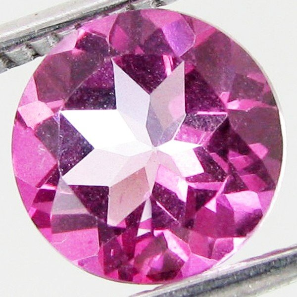 3: 2.15ct Mystic Pink Round Topaz EST: $27 - $54 (GEM-4
