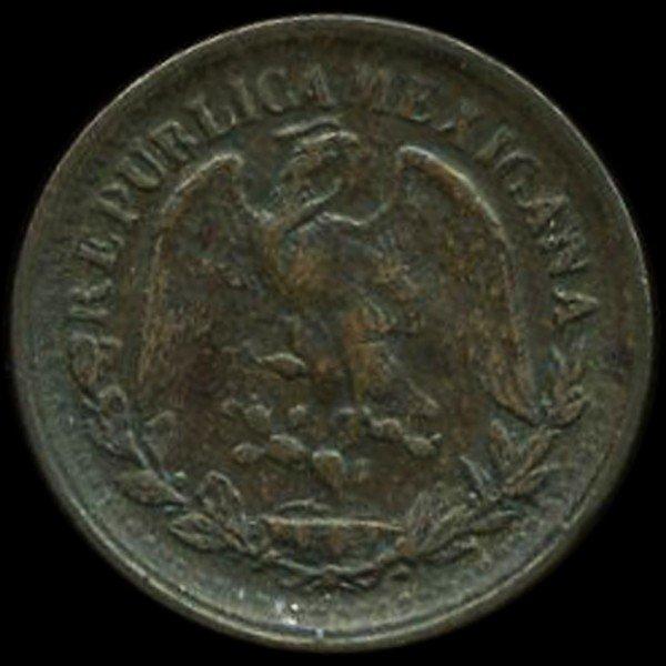 5: 1903 Mexico 1c VF/XF EST: $36 - $72 (COI-9985)