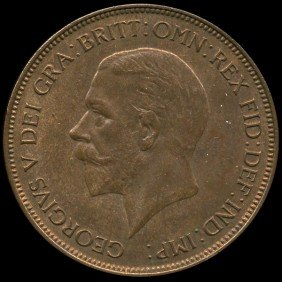 1936 British Geo V 1p Uncirculated MS64 EST: $54 -
