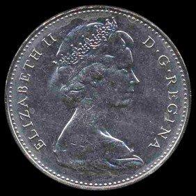 1976 Canada 5c Hi Grade GEM Unc EST: $270 - $540 (C
