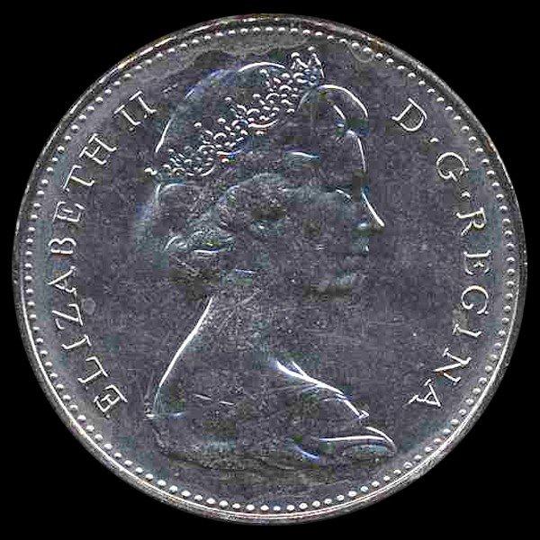 16: 1976 Canada 5c Hi Grade GEM Unc EST: $270 - $540 (C