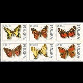 1991 Poland Block Of 6 Different Mint EST: $12 - $2