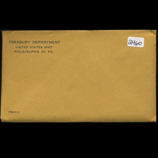 93: 1960 RARE Unopened Envelope Proof Set  EST: $270 -
