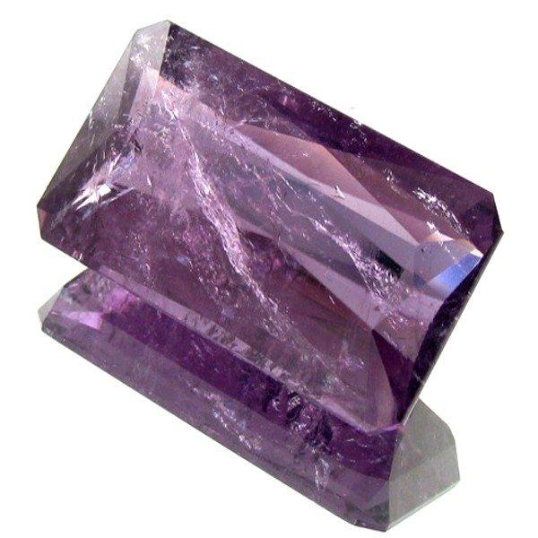 2597: 25.25ct Purple Cuprian Tourmaline Appraised $283k