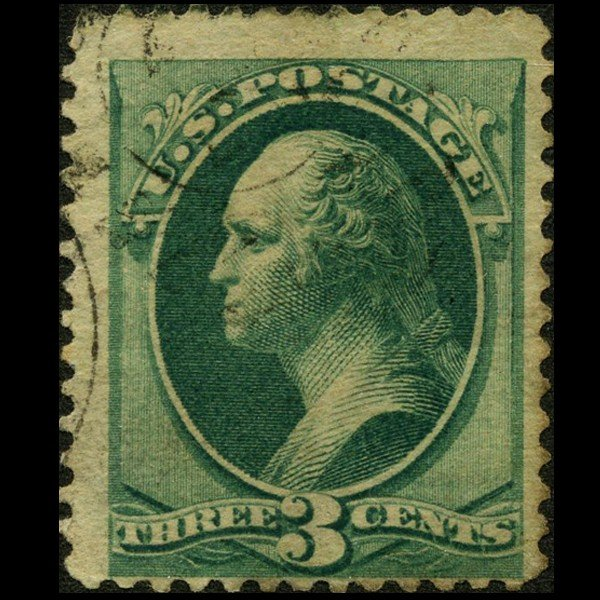 89A: 1870 US 3c Washington Stamp