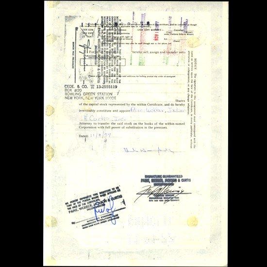 24: 1970s Brandwine Sports Stock Certif Horse Style - 2