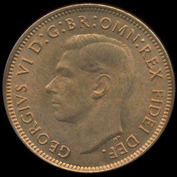 30: 1950 Britian 1/4p MS64/65