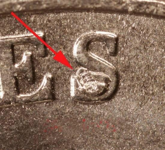 36: 2005 Rare Bison Nickel S Cud Die Err Choice+ BU
