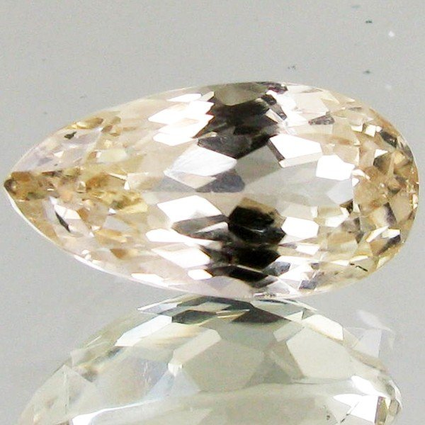 84: 10.3ct Strong Green Kunzite Pear