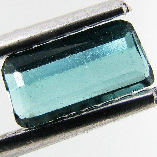 85: 0.4ct Green Cuprian Tourmaline Octagon